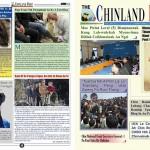 ခ်င္းတုိင္းရင္းသား ဘာသာစကားျဖင့္ ထုတ္ေဝသည့္ The Chinland Post သတင္းစာ (ဓာတ္ပံု - The Chinland Post facebook မွ)