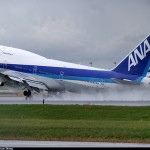 ဂ်ပန္ ေလေၾကာင္းလိုင္း ANA မွ Boeing 747-481 အမ်ိဳးအစား ေလယာဥ္တစီး (ဓာတ္ပုံ - planespotters.net)