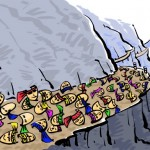 ရာဇဝင္ထဲမွာ မ်က္ႏွာဖုံးေတြ ခ်န္ထားခဲ့ (ကာတြန္း - ATH/ဧရာဝတီ)