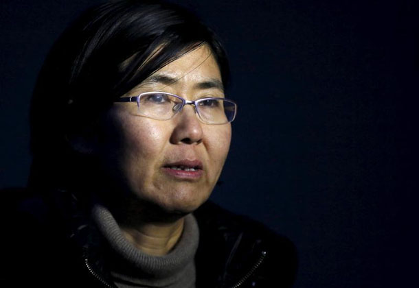 ၂၀၁၄ ခုႏွစ္က အင္တာဗ်ဴးတခုတြင္ ေတြ႔ရသည့္ လူ႔အခြင့္အေရး ေရွ႕ေန Wang Yu (ဓာတ္ပံု - Kim Kyung-Hoon / Reuters)
