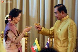 ပြီးခဲ့သည့်ရက်သတ္တပတ်အတွင်း ထိုင်းနိုင်ငံသို့ နိုင်ငံတေ…