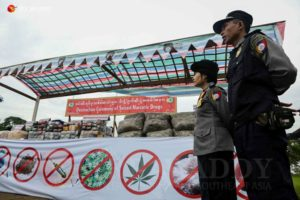 NLD အစိုးရ၊ ျငိမ္းခ်မ္းေရး တည္ေဆာက္မႈႏွင့္ မူးယစ္ေဆးျပႆနာ