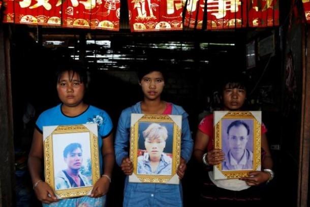 လူ႔အခြင့္အေရးခ်ိဳးေဖာက္မႈမ်ားကို ပဋိပကၡမ်ားျဖစ္ပြားေနသည့္ တုိင္းရင္းသားေဒသမ်ားတြင္ အမ်ားဆံုးေတြ႔ရသည္။ (ဓာတ္ပုံ-Reuters )