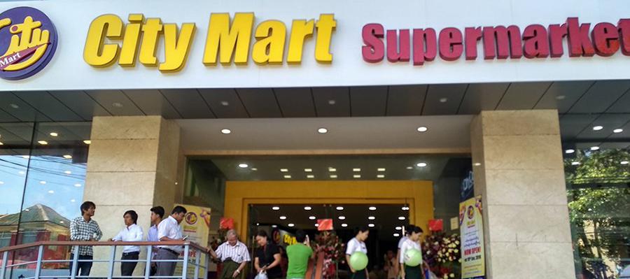 ရႏၠဳႏ္ၿမိဳ႕ ၏၂၄ ခုေ်မာက္ City Mart ကို အလုံၿမိဳ႕နၾယၱင္ ျဖင့ႅြစ္