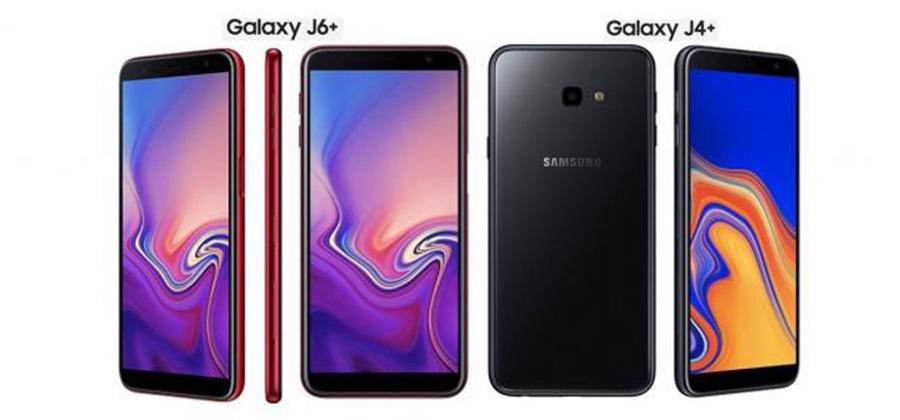 ေဘးဘကႅက္ေျဗရာဆႏၧာပါ ပထမဆုံး Samsung ဖုႏ္း Galaxy J6+ နဲ႔ Galaxy J4+