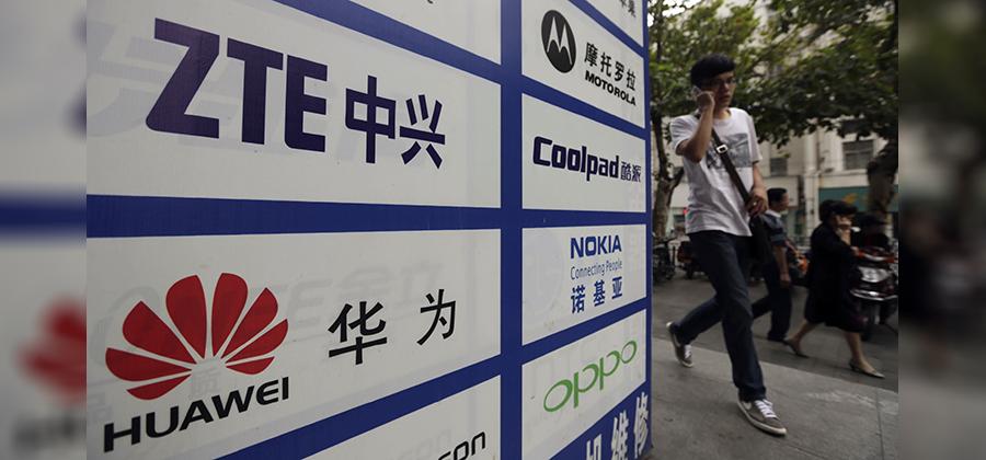 Huawei နဲ႔ ZTE ပစၥၫ္းေၾတ ဝယ္ယဴမႈ ဂ္ပႏ္ ရပၧိဳင္းမၫ္