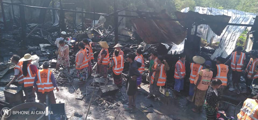 Image result for စည်ပင်သန့်ရှင်းရေးဝန်ထမ်း ယာယီလိုင်းခန်း