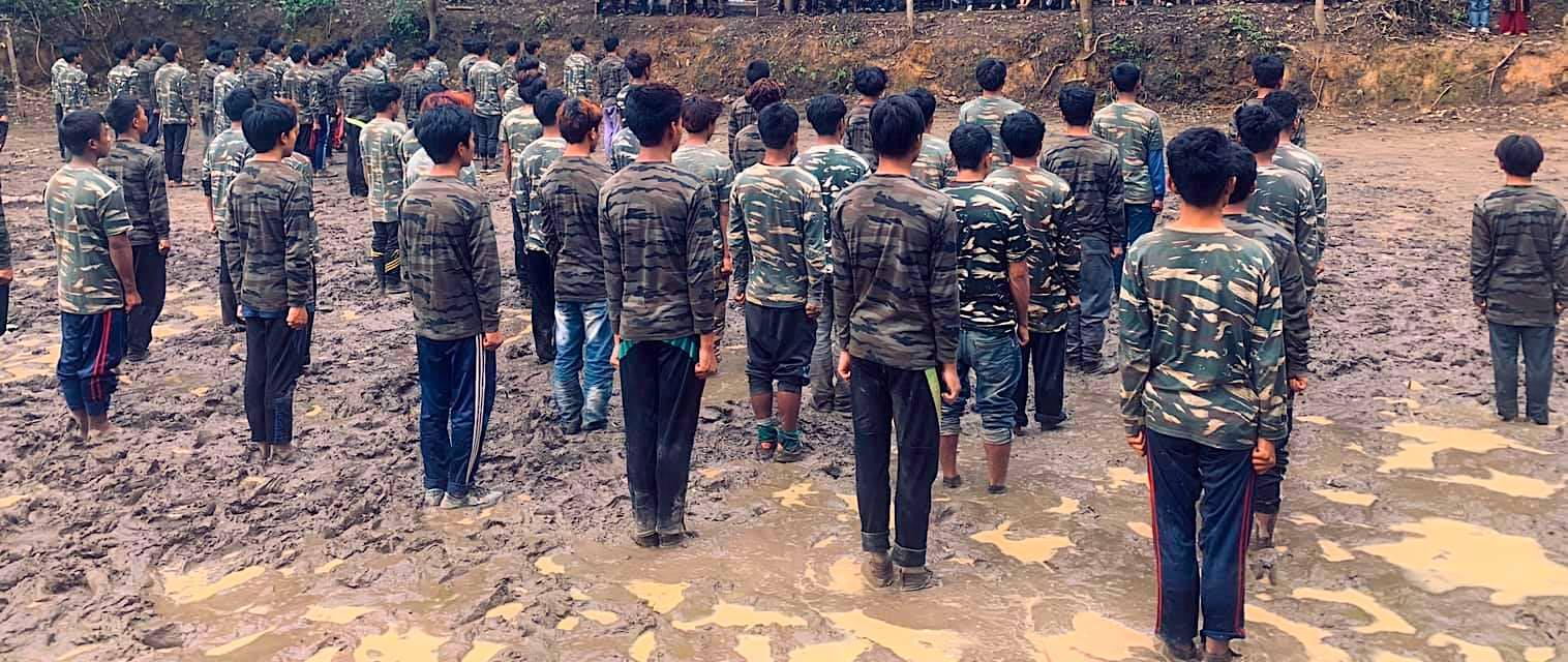 စစ်အာဏာရှင်ကို အာခံတွန်းလှန်နေကြသည့် ချင်းတောင်တန်းပေါ်က လက်နက်ကိုင်တပ်များ